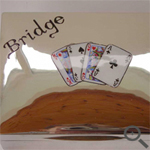 Silver bridge case personalisation