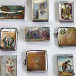 Varied antique vesta boxes and cases restored and repaired